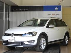 VW ゴルフオールトラックTSI 4MOTION LED 純正ナビDTV Aクルコン