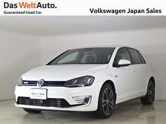 VW ゴルフGTEPluginHybrid 禁煙社用車 認定中古車 純正ナビ