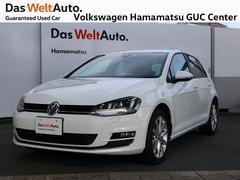 VW ゴルフハイライン 1オーナー 禁煙車 純正ナビ レザーシート