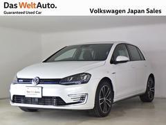 VW ゴルフGTEPlugInHybrid 禁煙社用車 認定中古車 OPカラー