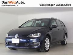 VW ゴルフヴァリアントTSIハイライン ACC 純正ナビ スマートキー 認定中古車