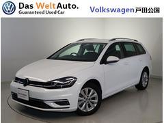 VW ゴルフヴァリアントTSI Comfortline 7.5デモカー 純正ナビ