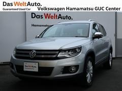 VW ティグアンラウンジ 1オーナー 禁煙車 純正ナビ 認定中古車 ETC
