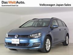 VW ゴルフヴァリアントコンフォートライン 純正ナビ キセノンヘッドライト
