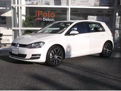 VW ゴルフTSI Highline 車検整備付・レザーシート・DCC