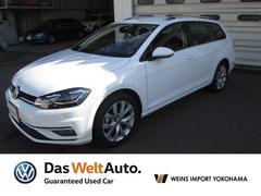 VW ゴルフヴァリアントTSIハイライン メーカー保証付 認定中古車