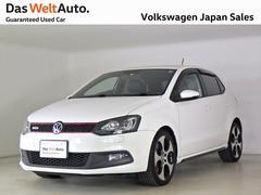 VW ポロGTI 社外ナビ アルカンターラPKG 認定中古車