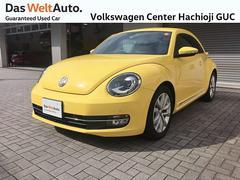 VW ザ・ビートルワンオーナー 禁煙車 レザーシート付 リアスポイラー付