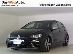 VW ゴルフRキセノンヘッドライト ACC DCC レザーシート ナビ