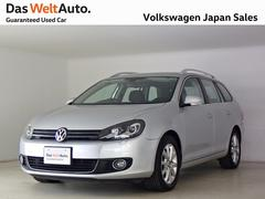 VW ゴルフヴァリアントコンフォートプレミアムED ナビ禁煙ワンオーナー 認定中古車