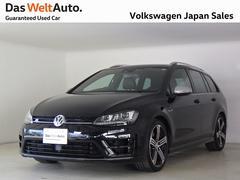 VW ゴルフRヴァリアントR 2.0T 4WD ブラックレザーシート 禁煙 認定中古車