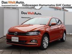 VW ポロハイライン 禁煙車 デモカー 純正ナビ バックカメラ