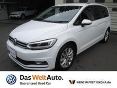 VW ゴルフトゥーランTSI ハイライン メーカー保証付 認定中古車