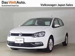 VW ポロコンフォートライン ナビPKG ワンオーナー 認定中古車