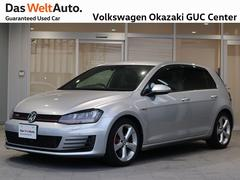 VW ゴルフGTIワンオーナー 禁煙車 純正ナビ ETC バックカメラ付