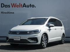 VW ゴルフトゥーランTSI Rライン LEDヘッドライト ACC 認定中古車