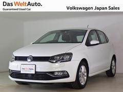 VW ポロマイスターLEDライト 純正ナビETC 認定中古車