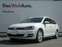 VW ゴルフヴァリアントハイライン キセノンヘッドライト リアカメラ 認定中古車