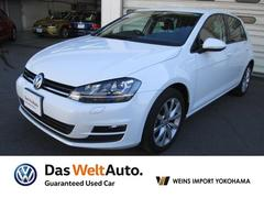 VW ゴルフTSIコンフォートライン コネクト メーカー保証付認定中古車
