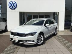 VW パサートヴァリアントTDI Eleganceline NAVI ACC デモカー