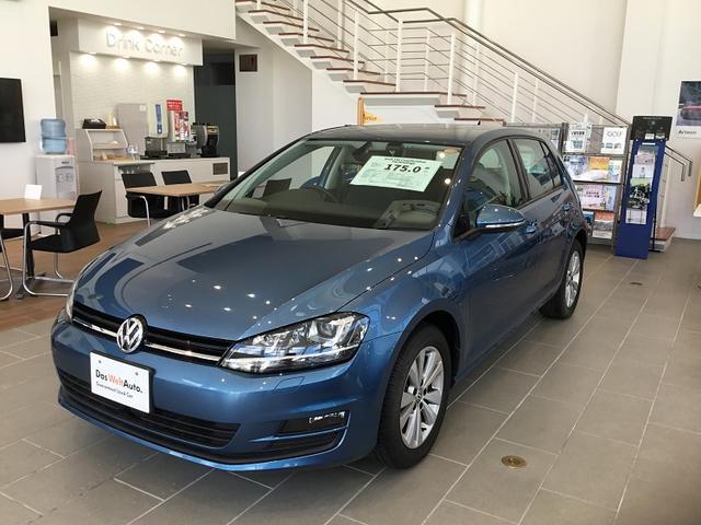 沖縄の中古車 フォルクスワーゲン VW ゴルフ 車両価格 175万円 リ済別 2015年 0.9万km パシフィックブルー M
