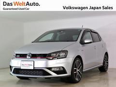 VW ポロGTILEDヘッドライト 純正ナビ