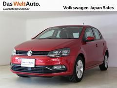 VW ポロTSIコンフォートライン 純正ナビバックカメラ 認定中古車