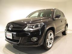 VW ティグアンR−Line 4モーション4WD メーカー保証付認定中古車