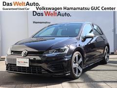 VW ゴルフR1オーナー デモカー 純正ナビ レザーシート 認定中古車