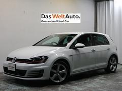 VW ゴルフGTI認定中古車 純正ナビ Bカメラ ACC キセノン ETC