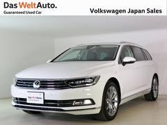 VW パサートヴァリアントTSI ハイライン LEDライト 純正ナビ 元社有車