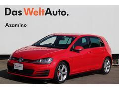 VW ゴルフGTIGTI ワンオーナー 認定中古車 ETC