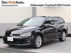 VW ゴルフヴァリアントHighlineBMT 地デジナビ・Bカメラ・バックソナー