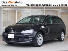 VW ゴルフヴァリアントTSI Highline BMT ワンオーナー車