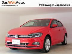 VW ポロハイライン 禁煙 LEDヘッドライト ACC 認定中古車
