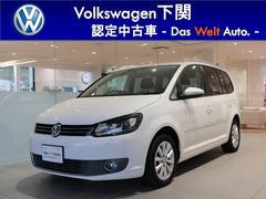 VW ゴルフトゥーランTSIハイライン レザーシート ナビ ETC LED フォグ