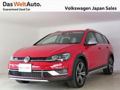 VW ゴルフオールトラックTSI 4モーション テクノロジーPKG18AW 認定中古車