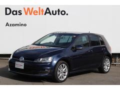 VW ゴルフTSIハイラインブルーモーションテクノロジー パノラマルーフ