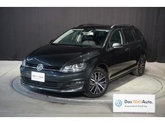 VW ゴルフヴァリアントALLSTAR 純正ナビ・バックモニター・ETC・禁煙車