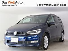 VW ゴルフトゥーランTSIハイライン 純正ナビ Bカメラ ACC 認定中古車