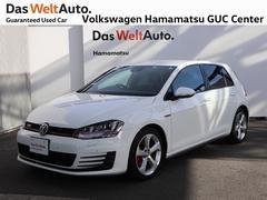 VW ゴルフGTI禁煙車 純正ナビ 認定中古車 Bluetooth ターボ