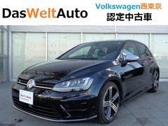 VW ゴルフR純正ナビ DCC レザー 認定中古車