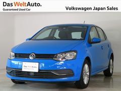 VW ポロコンフォート 純正SDナビ 禁煙 ワンオーナー 認定中古車