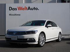 VW パサート2.0TSI Rライン 純正ナビ デモカー 認定中古車