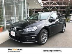 VW ゴルフヴァリアントR−Line VW認定中古車 レザーシート ナビ ETC