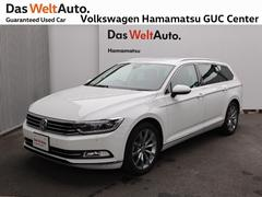 VW パサートヴァリアントハイライン デモカー 禁煙車 認定中古車 純正ナビ 革シート