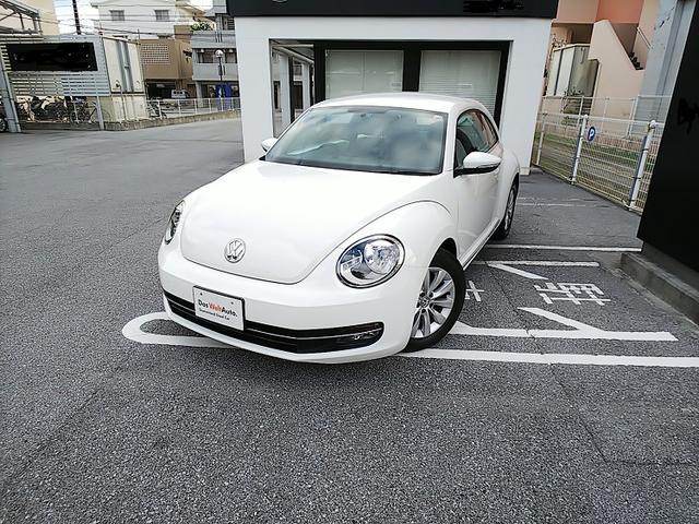 沖縄の中古車 フォルクスワーゲン VW ザ・ビートル 車両価格 145万円 リ済別 2013年 2.5万km キャンディホワイト