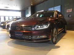 VW パサートヴァリアントハイライン テクノロジーパッケージ 純正ナビ 認定中古車