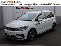 VW ゴルフトゥーランTSI R−Line 1オーナー 禁煙車 純正ナビ ETC