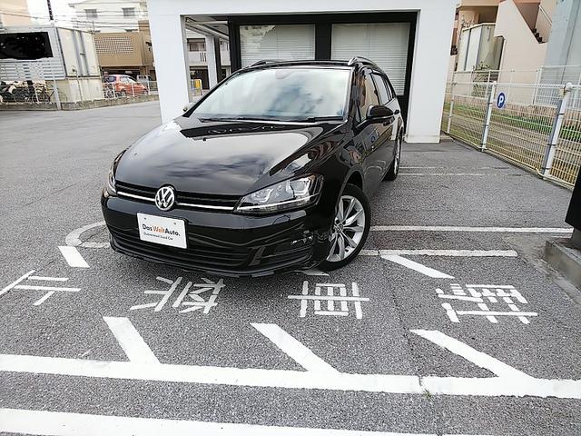 沖縄県の中古車ならVW ゴルフヴァリアント TSI Comfortline Connect